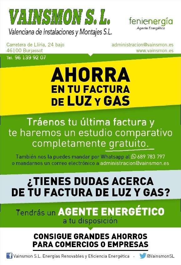 fenie energia tarifas precios