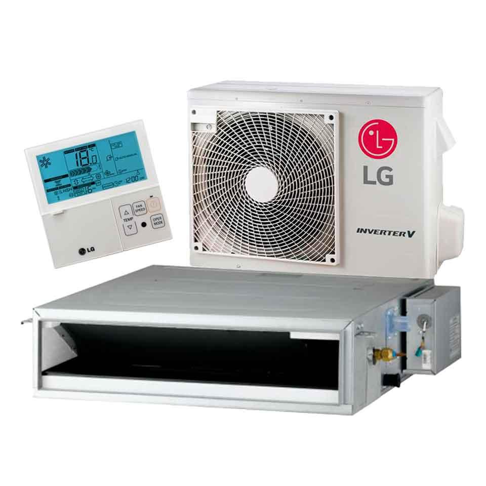 Aire acondicionado por conductos lg cm18 n14 vainsmon sl for Aire acondicionado por conductos panasonic