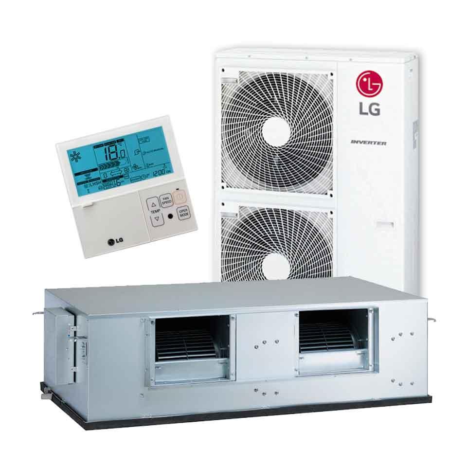 Aire acondicionado por conductos lg ub70 n94 vainsmon sl for Aire acondicionado conductos