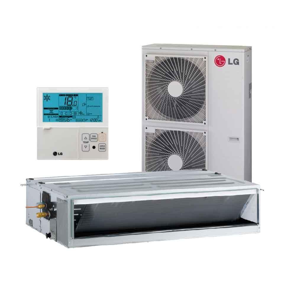 Aire acondicionado por conductos lg um42 n24 vainsmon sl for Aire acondicionado por conductos panasonic