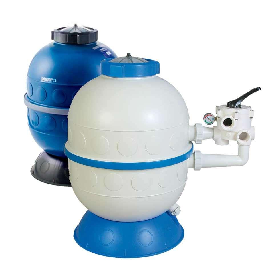 Filtro arena piscina KRIPSOL Granada GL 400 inyectado con válvula ...