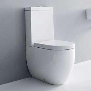 Tapa de WC Kerasan Flo compatible