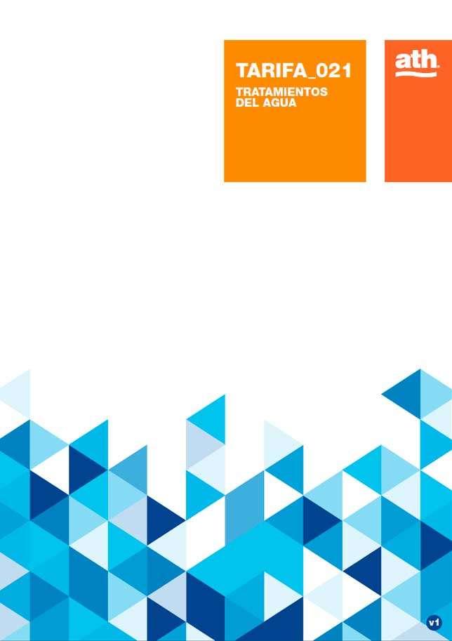 Catálogo ATH tarifa 2017