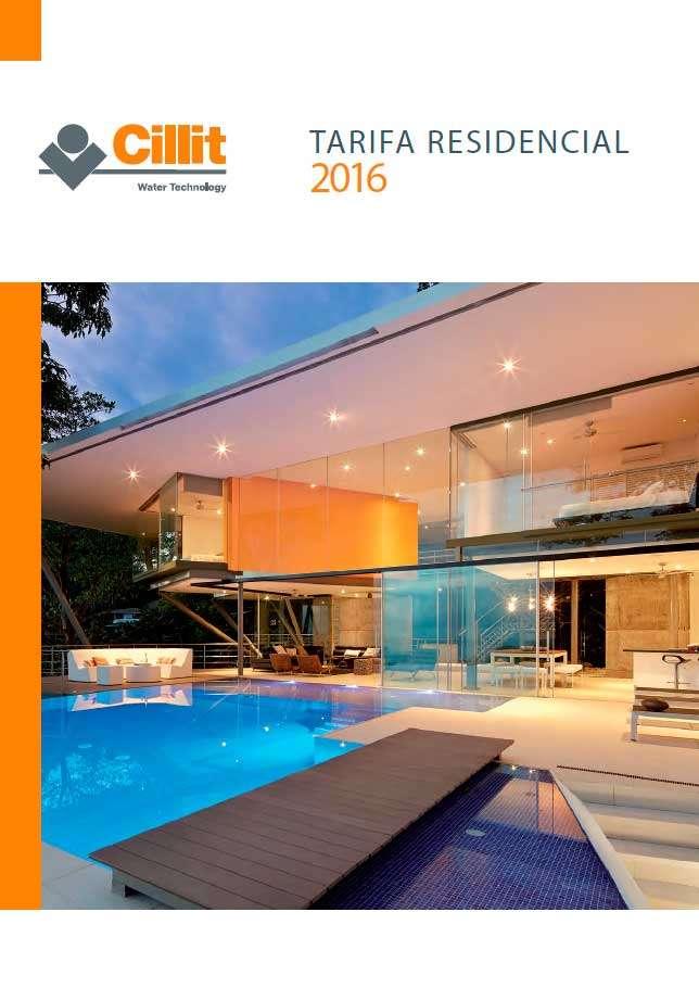 Catálogo Cillit Tarifa 2016