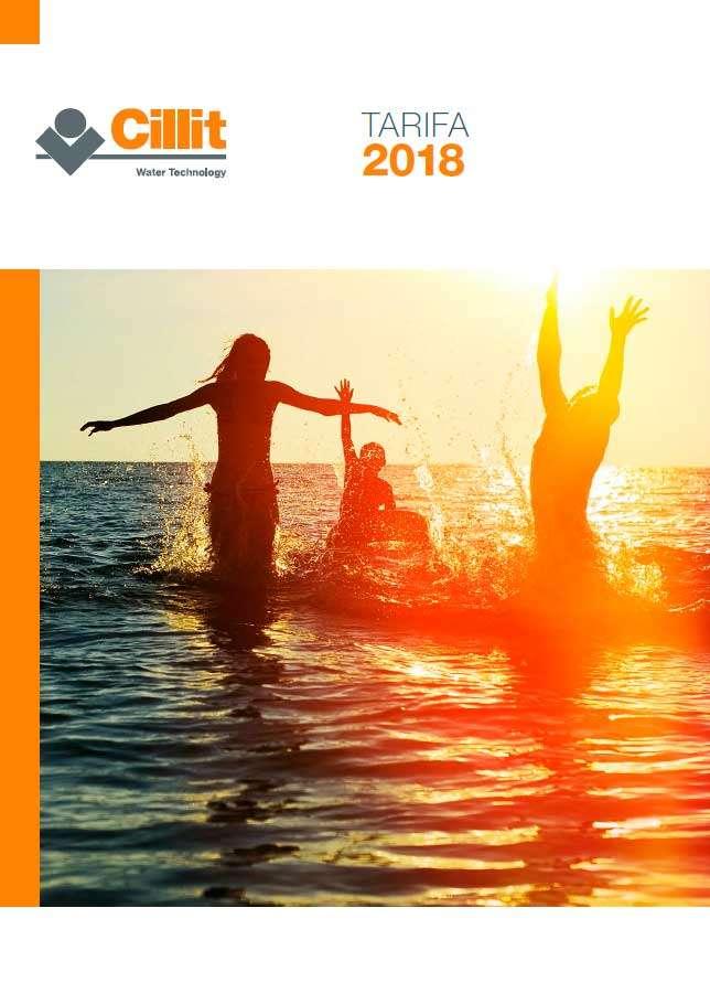 Catálogo Cillit Tarifa 2018