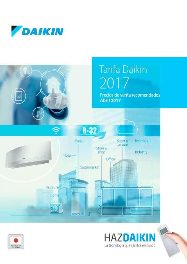 Catálogo Daikin tarifa 2017