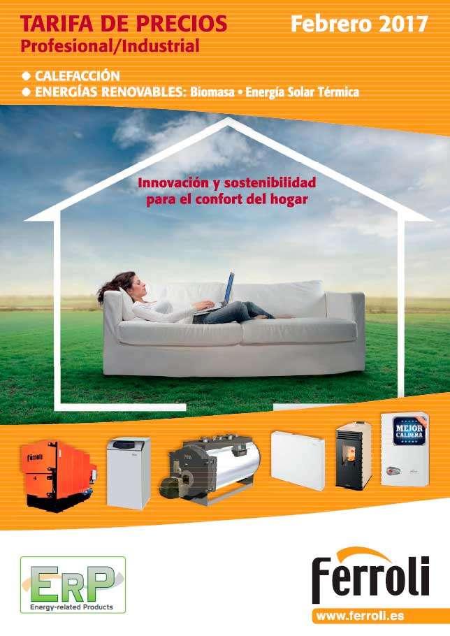Catálogo tarifa Ferroli 2017