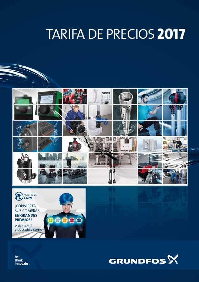 Catálogo tarifa Grundfos 2017