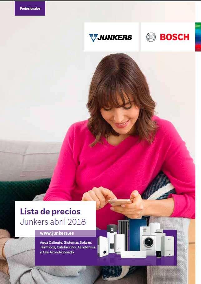 Catálogo Tarifa Junkers 2018