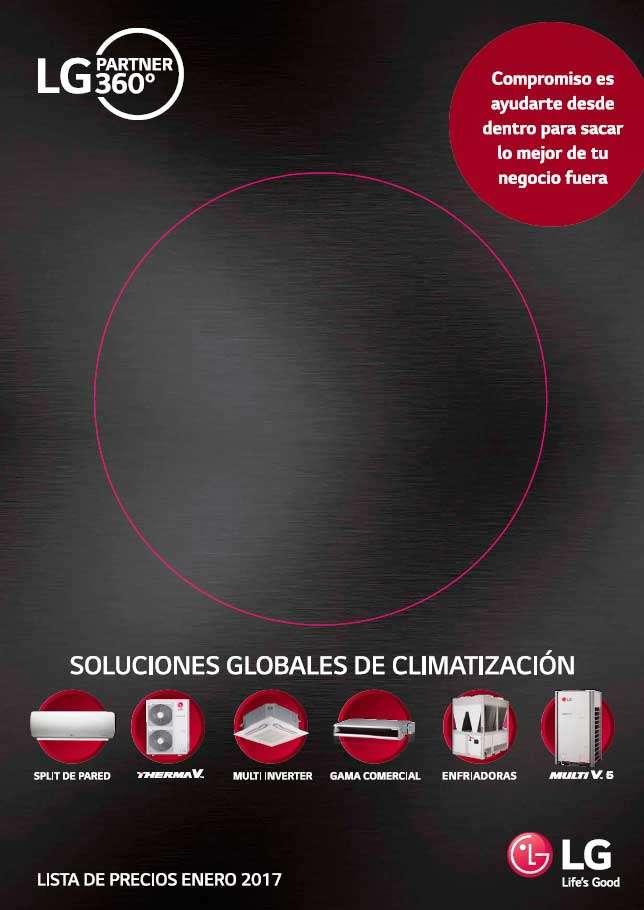 Catálogo Tarifa LG 2017