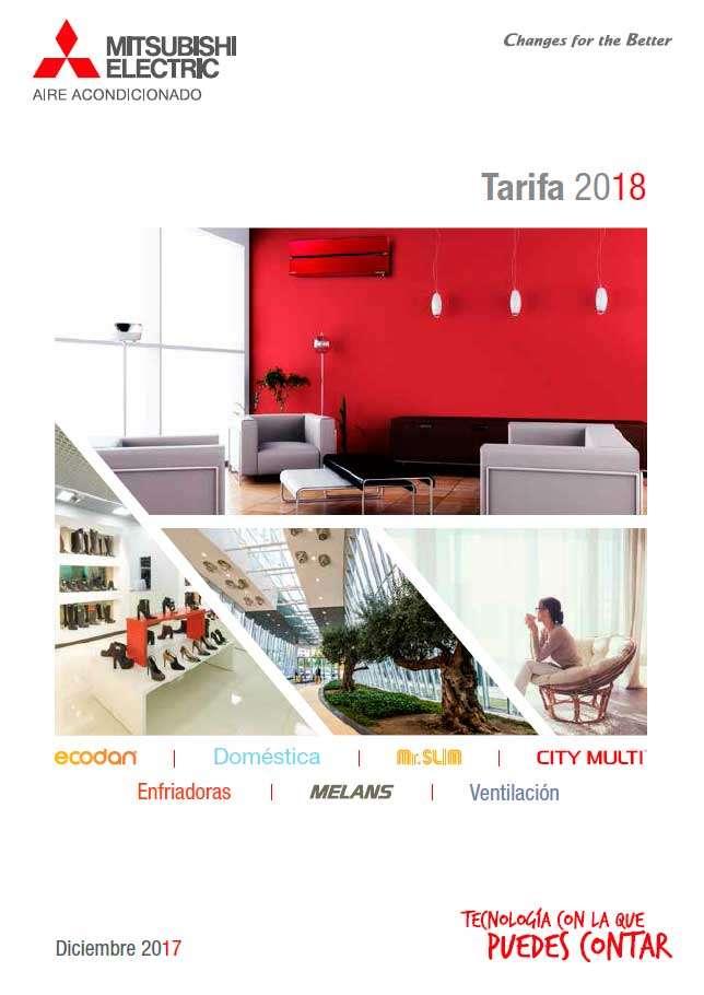 Tarifa Mitsubishi Electric 2018