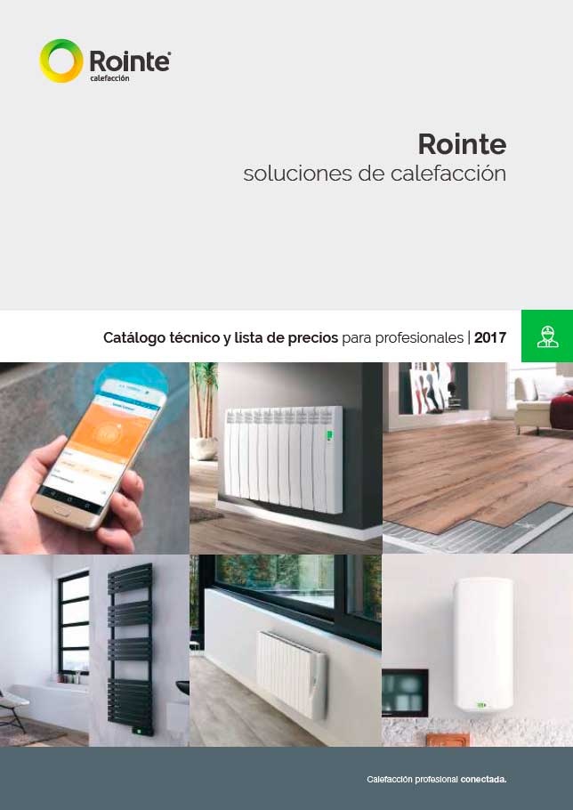Catálogo Tarifa Rointe 2017
