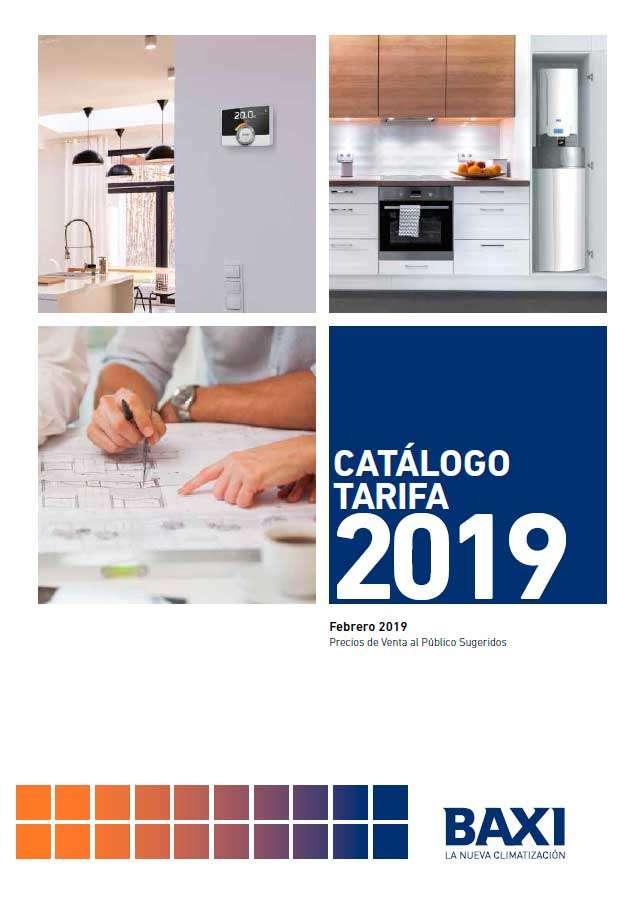 Catálogo Baxi tarifa 2019