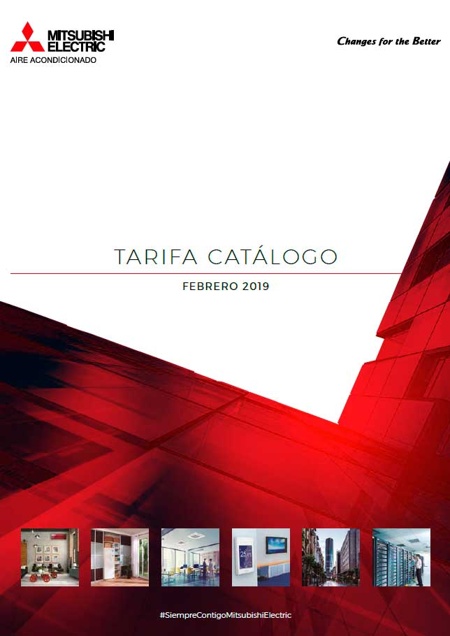 Tarifa Catálogo Mitsubishi Electric 2019
