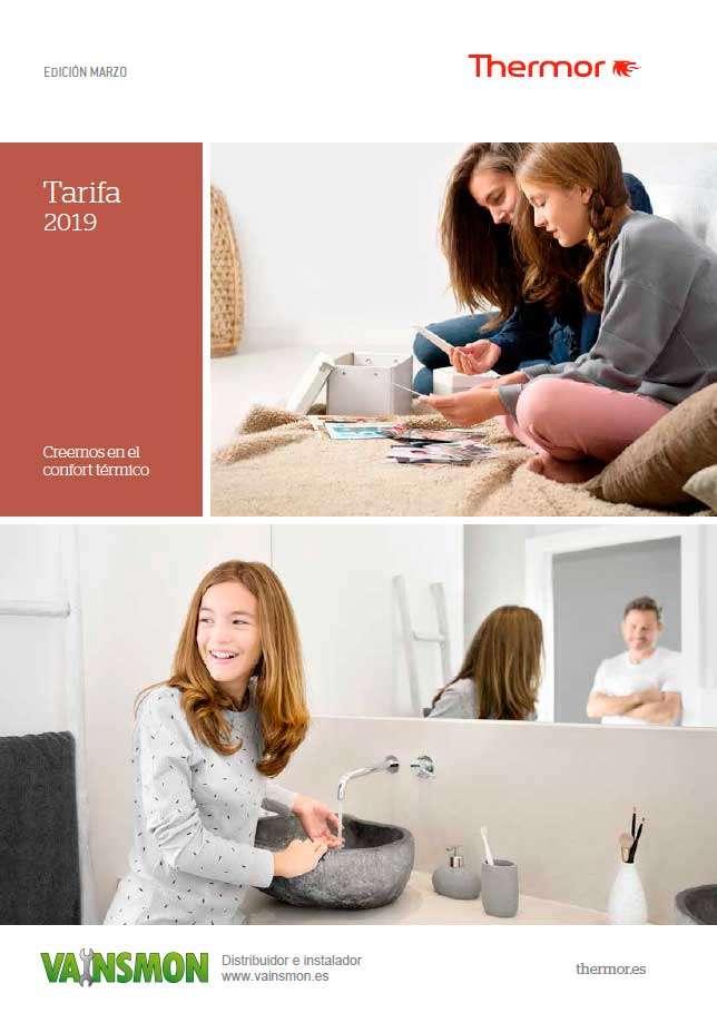 Tarifa Thermor 2019