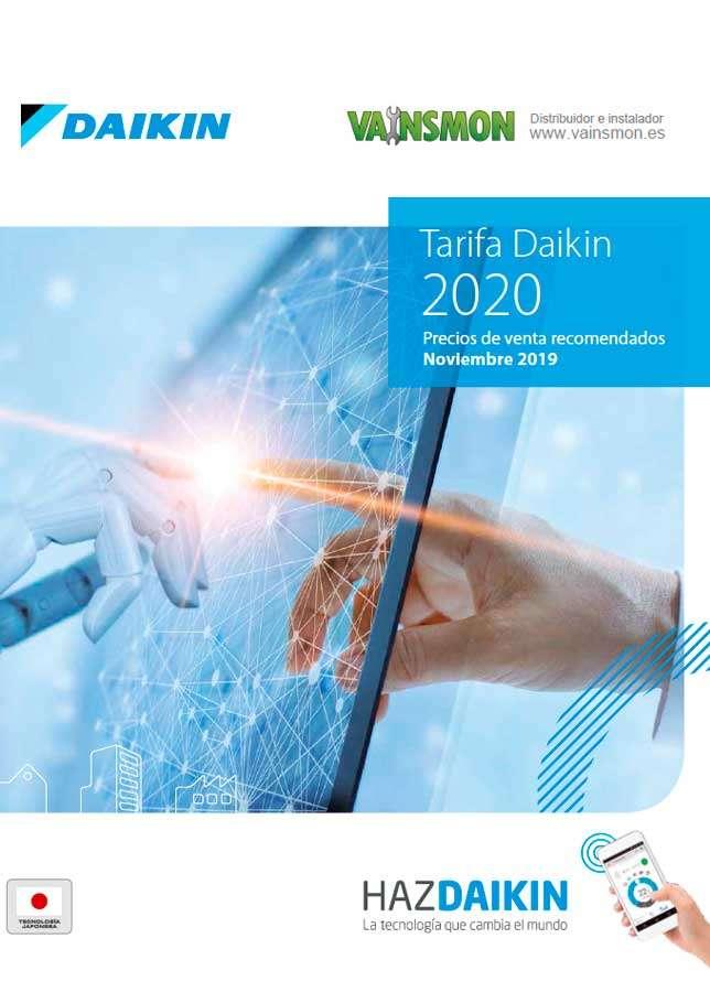 Catálogo DaikinTarifa 2020
