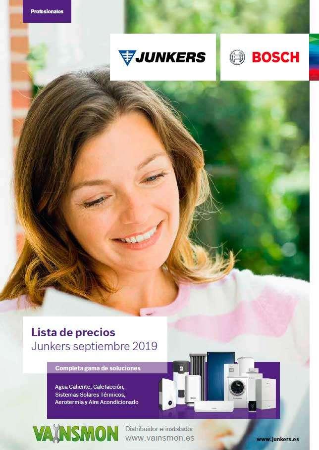 Catálogo Tarifa Junkers 2019