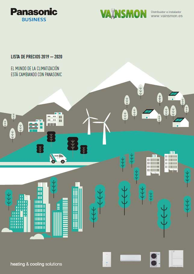 Catálogo tarifa Panasonic 2020