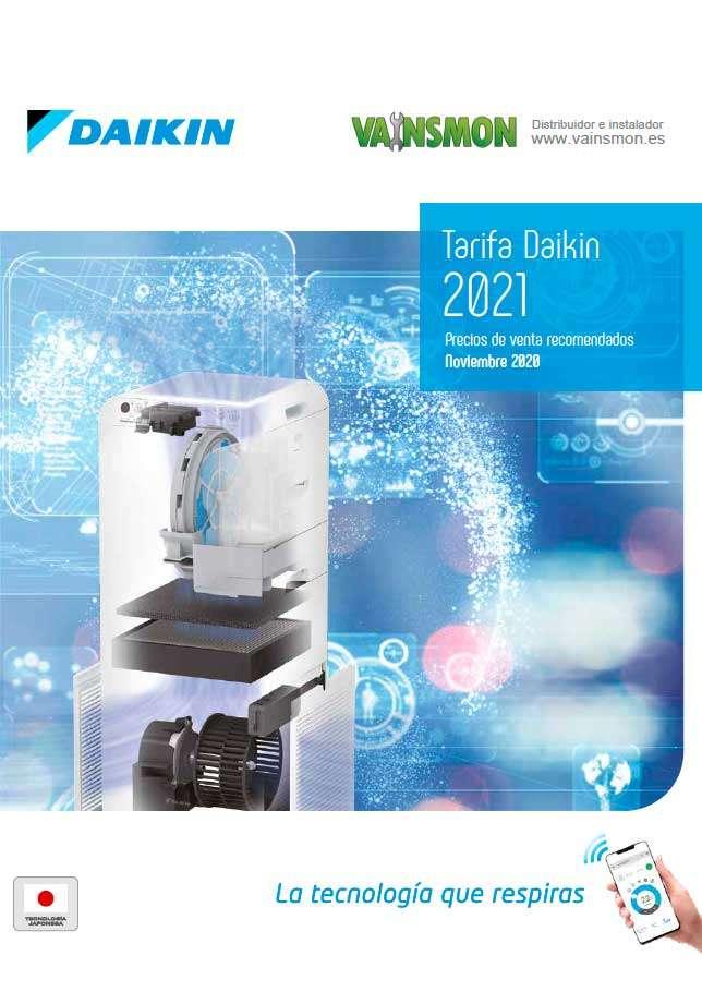 Catálogo DaikinTarifa 2021
