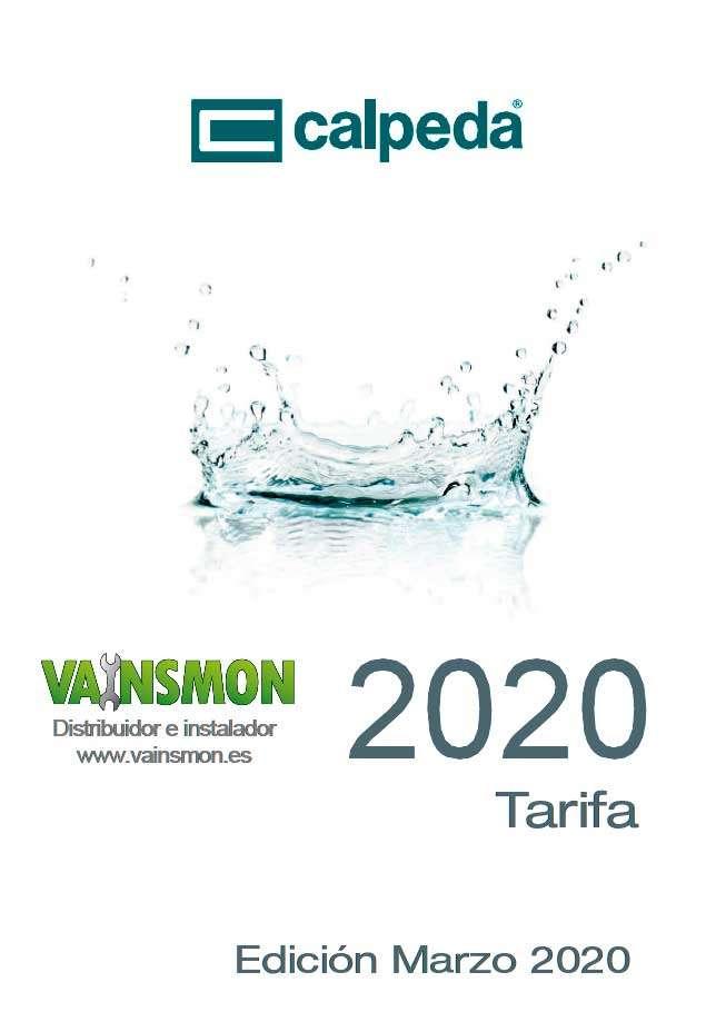 Catálogo Calpeda Tarifa 2020