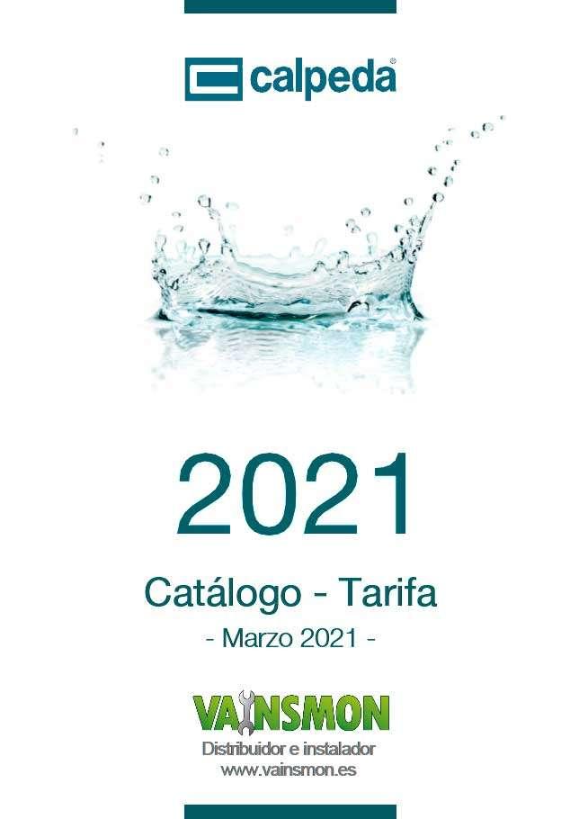 Catálogo Calpeda Tarifa 2021