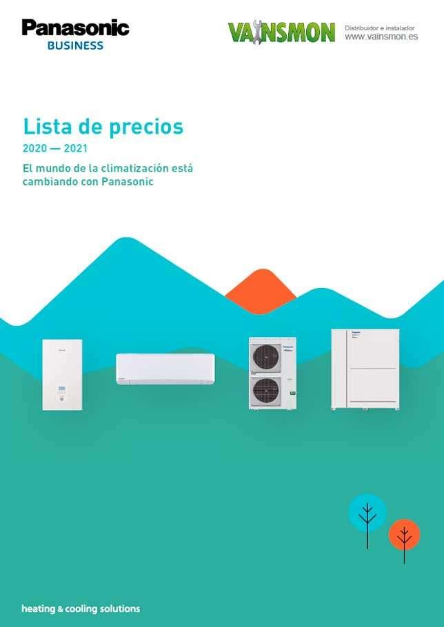Catálogo Tarifa Panasonic 2021