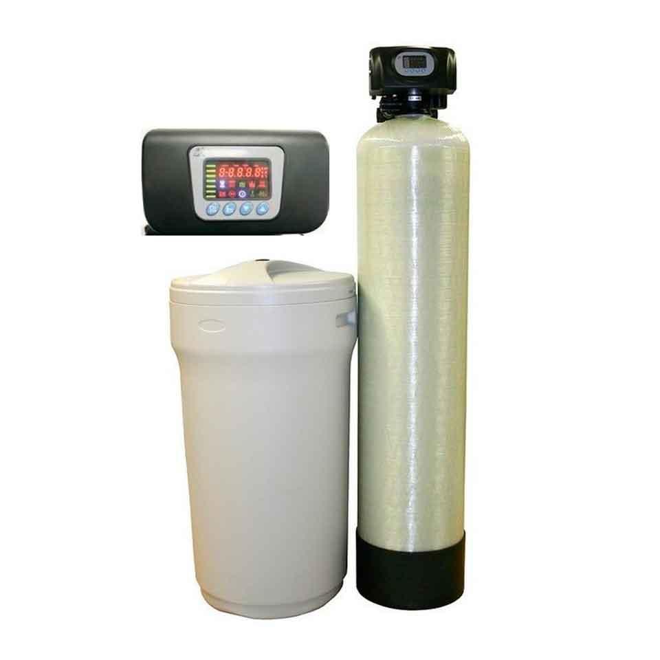 Descalcificador 100 litros radikal contra r 100 rodriguez for Precio instalacion descalcificador
