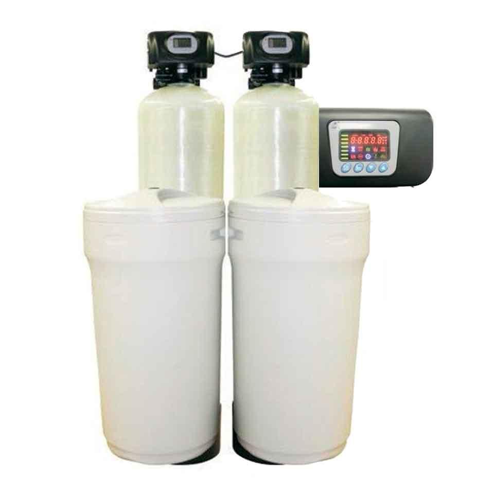 Descalcificador 160 litros radikal contra duo r 160 for Precio instalacion descalcificador