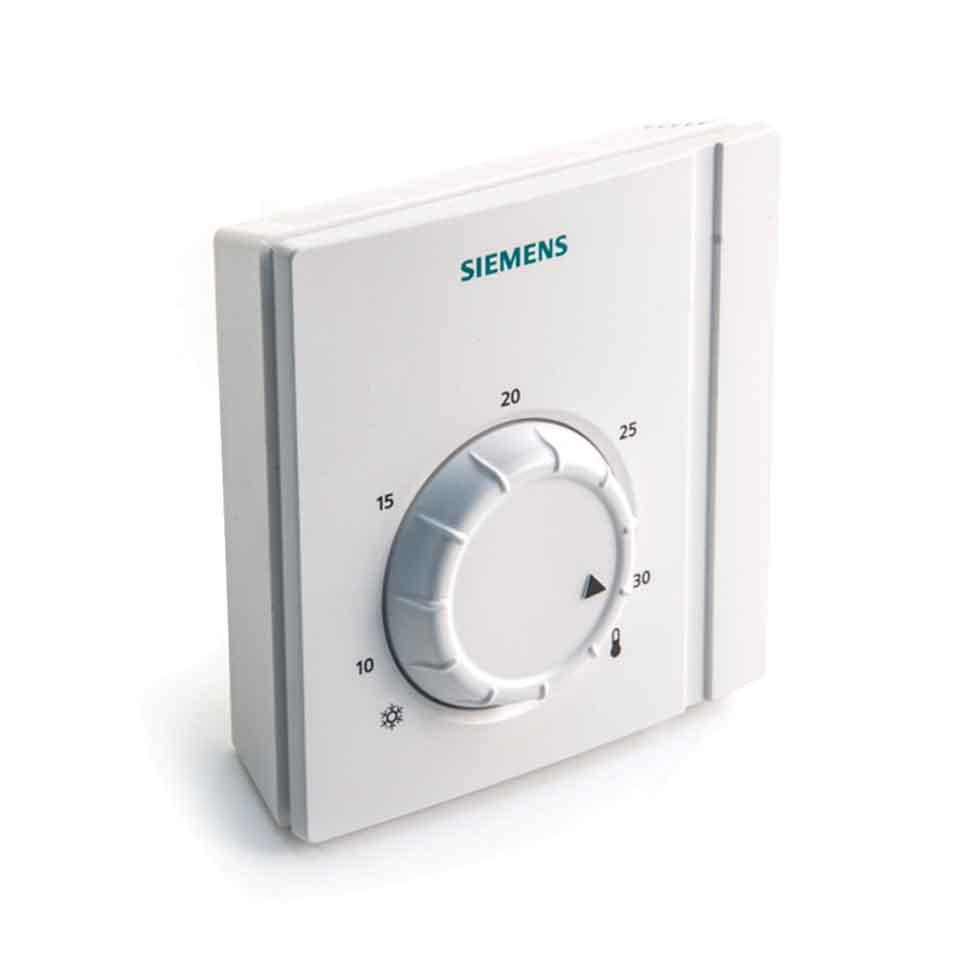 Termostato siemens rra21 analogico ambiente vainsmon sl for Termostato analogico calefaccion